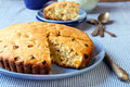 Irish raisin cake Stock Photos