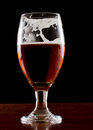 Irish red ale Stock Image