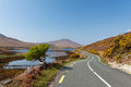 Irish scenery in Co. Mayo Stock Photography