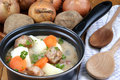 Irish stew, a specialty from Ireland Stock Images