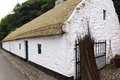 Irish Thatched Cottage Royalty Free Stock Photo