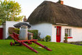 Irish traditional cottage house Royalty Free Stock Image
