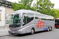 Irizar pb berlin germany september grey interurban bus at the city street Stock Images