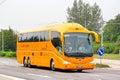 Irizar pb brno czech republic july interurban coach at the city street Royalty Free Stock Photography