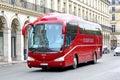Irizar pb paris france august touristic coach at the city street Stock Photo