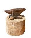 Iron anvil Royalty Free Stock Photo