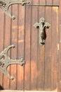 Iron Bars On The Door