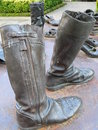 Iron boots Royalty Free Stock Photography