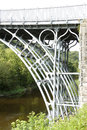 Iron Bridge over the River Severn Royalty Free Stock Photo