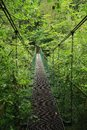 Iron bridge in Slovak Paradise