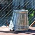 Iron bucket Royalty Free Stock Photo