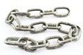 Iron chain Royalty Free Stock Photo