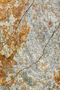 Iron containing rock pieces of Royalty Free Stock Image