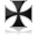 Iron cross Stock Image