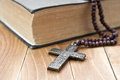Iron Cross With A Book