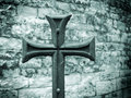 Iron Cross or crucifix Stock Image