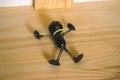 Iron doll Pinocchio Royalty Free Stock Photo