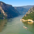 Iron Gate Danube Stock Photography