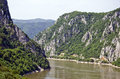 Iron gates djerdap serbia the is a gorge on the danube river the main feature and attraction of the national park Stock Photo