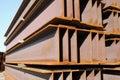 Iron girder Stock Image