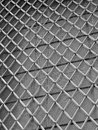 Iron grating strong and net in a large window italy Royalty Free Stock Photo