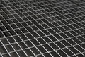 Iron grid texture Stock Photography