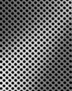 Iron grille surface Royalty Free Stock Images