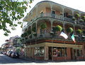 French Quarter balconies Royalty Free Stock Photo