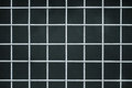 Iron lattice on a dark background Stock Photography