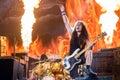 Iron Maiden in Prague 2016 Royalty Free Stock Photo