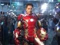 Iron Man mark 43 in Ani-Com & Games Hong Kong Royalty Free Stock Photo
