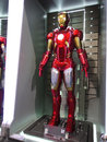 Iron man mark movie promotion in hong kong in april to may Royalty Free Stock Photo