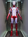 Iron man mark movie promotion in hong kong in april to may Royalty Free Stock Image