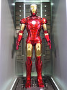 Iron man mark movie promotion in hong kong in april to may Royalty Free Stock Photos