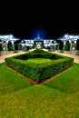 Iron mosque or tuanku mizan zainal abidin at night Stock Photos