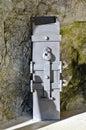 Iron offertory box