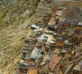 Iron ore deposits Stock Images