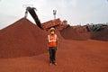 Iron-ore Mines Royalty Free Stock Photo