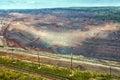 Iron ore mining. Zheleznogorsk. Russia Royalty Free Stock Photo