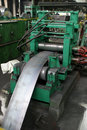 Iron plate machine Stock Photos