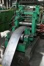 Iron plate machine Royalty Free Stock Photo