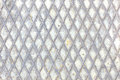 Iron rhombus pattern Royalty Free Stock Photo