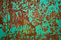 Iron sheet with rust Royalty Free Stock Photos