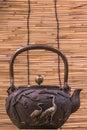 Photo : Iron teapot a o on