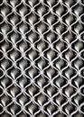 Iron wave texture. Wavy pattern