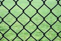 Iron wire fence Royalty Free Stock Photography