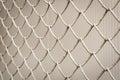 Iron wire fence imprisonment concept backgroun texture Stock Images