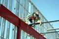 Iron Worker Welding Bar Joist