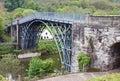 The Ironbridge in Shropshire Royalty Free Stock Photo