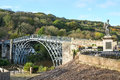 Ironbridge in Shropshire, UK Royalty Free Stock Photo